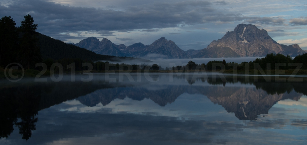 Sunrise at Oxbow Bend, Grand Teton NP, WY