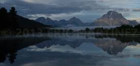 Sunrise at Oxbow Bend, Grand Teton NP, WY