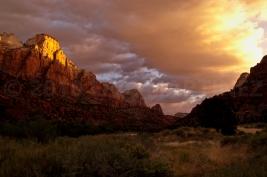 Sunrise at Zion NP, UT
