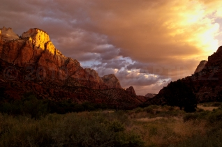 Sunrise at Zion NP, UT