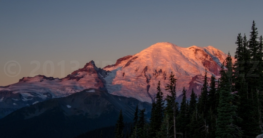 Sunrise at Mt. Rainier NP, WA