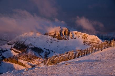 Cody Peak from Jackson Hole Mountain Resort, WY