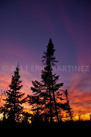 Sunset in Minnesota