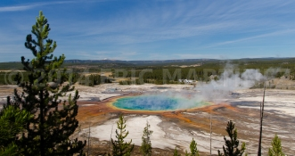 Grand Prismatic Spring, Yellowstone NP, WY