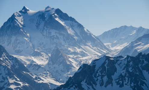Grande Casse and the Vanoise Massif, France