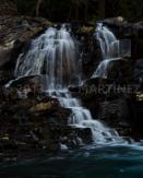 Sacred Dancing Cascade, Glacier NP, MT