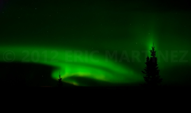 Northern Lights in Ely, MN