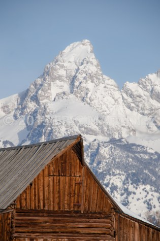 T. A. Moulton Barn and the Grand Teton, Grand Teton NP, WY