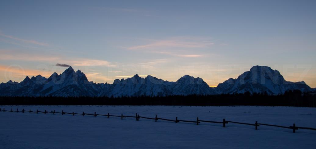 Teton Range, Grand Teton NP, WY