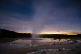 Great Fountain Geyser, Yellowstone NP, WY