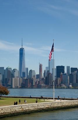 One World Trade Center & Ellis Island, NY