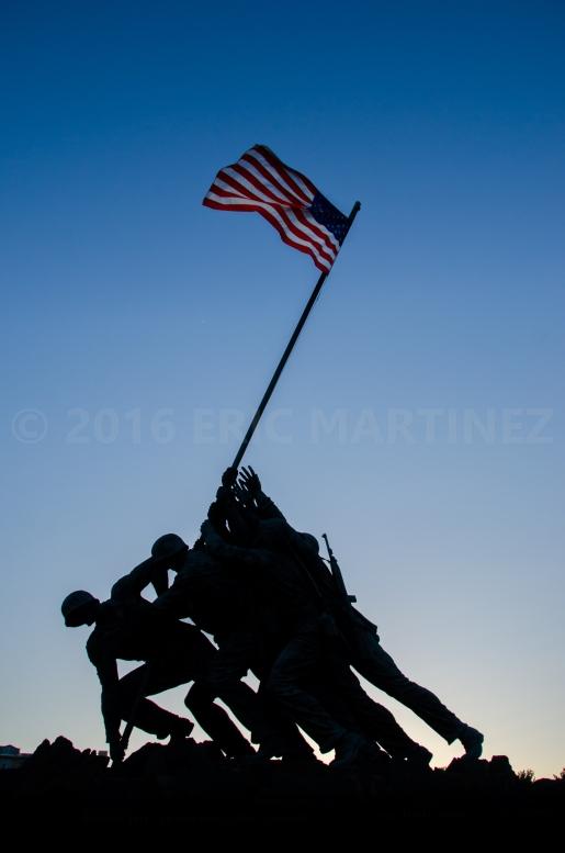 Marine Corps War Memorial, Arlington, VA