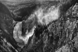 Lower Falls of the Yellowstone, Yellowstone NP, WY
