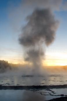 Great Fountain Geyser, Yellowstone, NP, WY