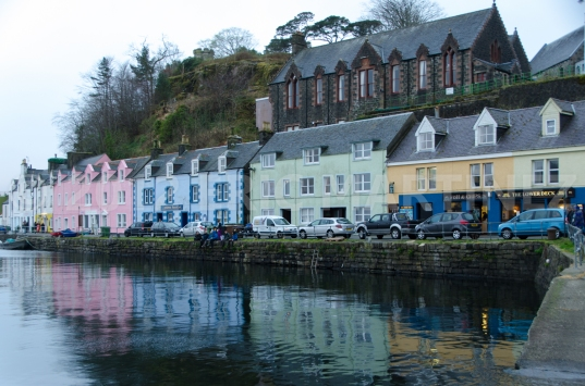 Portree Harbor, Isle of Skye, Scotland
