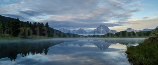 Mt. Moran from Oxbow Bend, Grand Teton NP, WY