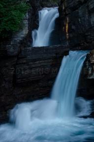 St. Mary's Falls, Glacier NP, MT