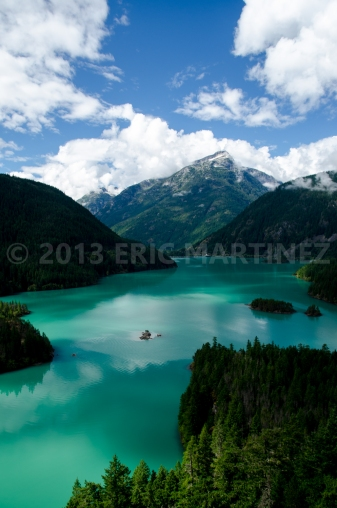 Diablo Lake, North Cascades NP, WA