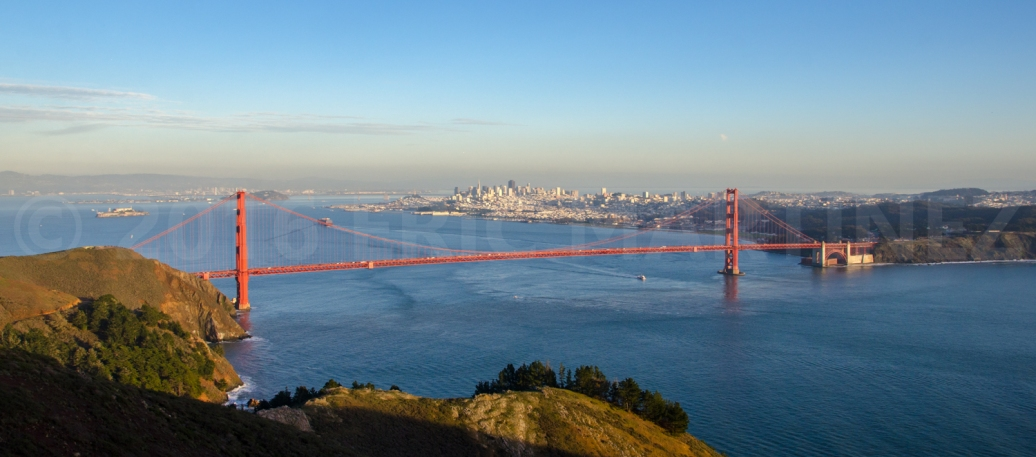 Golden Gate Bridge and San Francisco, CA