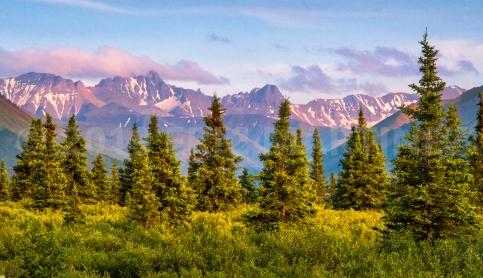 Fang Mountain, Denali NP, Alaska