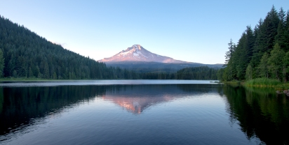 Mt. Hood and Trillium Lake, OR