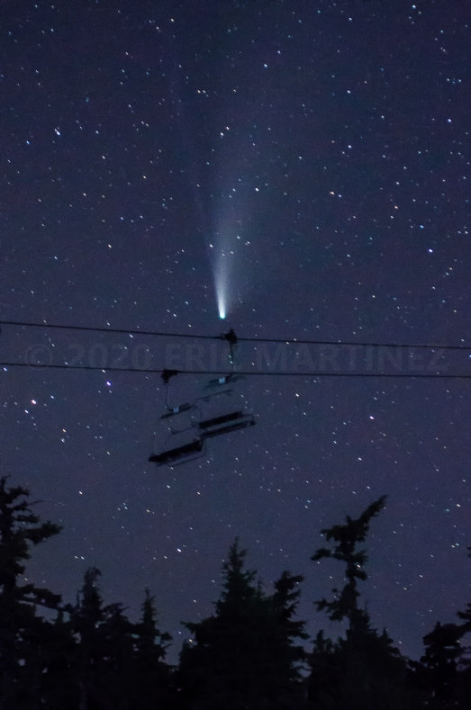 Neowise Comet, Timberline, OR